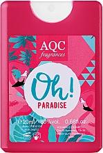 Духи, Парфюмерия, косметика AQC Fragrances Oh Paradise - Парфюмированная вода