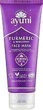 Духи, Парфюмерия, косметика Маска для лица с куркумой и бергамотом - Ayumi Turmeric & Bergamot Face Mask