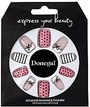 Духи, Парфюмерия, косметика Набор искусственных ногтей - Donegal Express Your Beauty