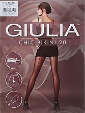 "Духи, Парфюмерия, косметика Колготки для женщин ""Chic Bikini"" 20 den, nero - Giulia"