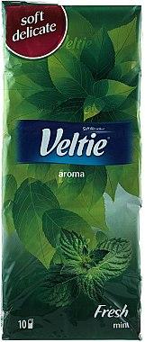 "Бумажные носовые платки ""Мята"" - Veltie Aroma Fresh Tissues"