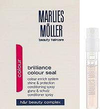 Духи, Парфюмерия, косметика Кондиционер-спрей для окрашенных волос - Marlies Moller Brilliance Colour Seal (пробник)