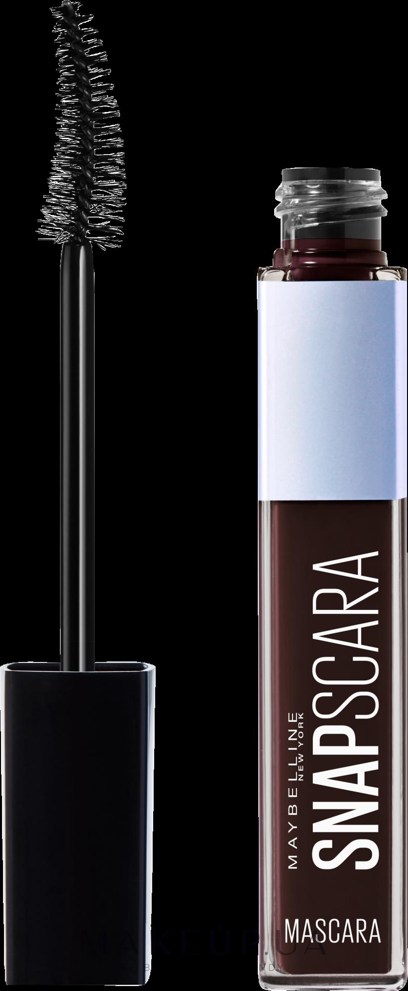 Тушь для ресниц - Maybelline New York Snapscara Mascara  — фото Коричневый