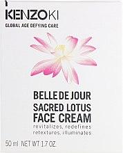 """Духи, Парфюмерия, косметика Крем для лица """"Сила священного лотоса"""" - Kenzoki Belle De Jour Sacred Lotus Face Cream"""