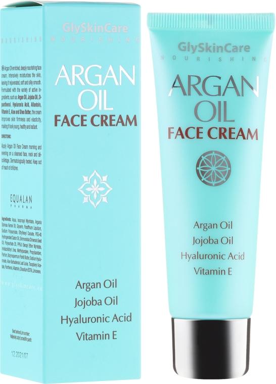 Питательный крем для лица с аргановым маслом - GlySkinCare Argan Oil Face Cream