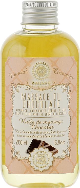 "Массажное масло ""Шоколад"" - Saules Fabrika Massage Oil"
