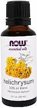 Духи, Парфюмерия, косметика Эфирное масло бессмертника - Now Foods Essential Oils Helichrysum Oil Blend