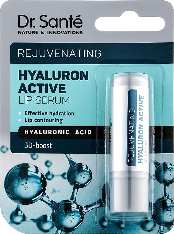 Сыворотка для губ с гиалуроновой кислотой - Dr. Sante Hyaluron Active Rejuvenating Lip Serum