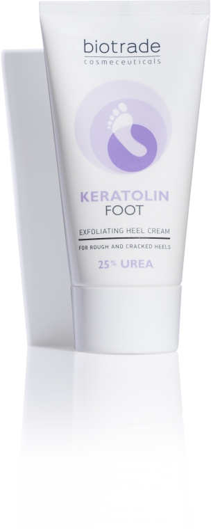 Крем для ног с 25 % мочевины - Biotrade Keratolin Foot Exfoliating Heel Cream — фото N1