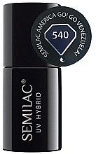 Духи, Парфюмерия, косметика Лак для ногтей - Semilac UV Hybrid America Go!