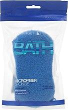Духи, Парфюмерия, косметика Мочалка банная, синяя - Suavipiel Microfiber Bath Sponge Extra Soft