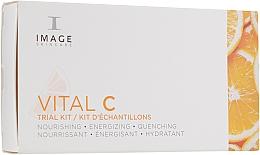 Духи, Парфюмерия, косметика Набор - Image Skincare Vital C (f/mask/7.4ml + cleanser/7.4ml + f/cr/7.4ml + ser/7.4ml)