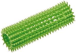 Духи, Парфюмерия, косметика Бигуди пластиковые мягкие 23 мм, зеленые - Olivia Garden