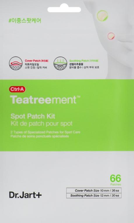Средство для лечения акне - Dr. Jart+ Ctrl-A Teatreement Soothing Patch Kit