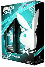 Духи, Парфюмерия, косметика Playboy Endless Night - Набор (b/spray/75ml + deo/spray/150ml)