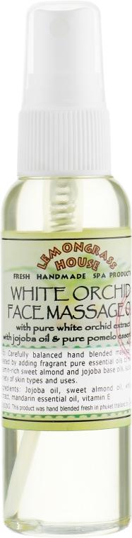 """Масло для лица и массажа """"Белая орхидея"""" - Lemongrass House White Orchid Face Massage Oil"""