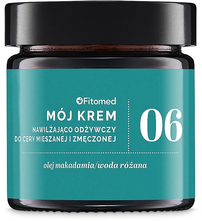 Крем питательный и увлажняющий для комбинированной кожи №6 - Fitomed My Cream No.6
