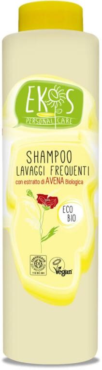 Шампунь для ежедневного использования с органическим экстрактом овса - Ekos Personal Care Shampoo For Frequent Washing