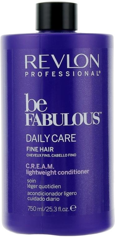 Кондиционер для тонких волос - Revlon Professional Be Fabulous C.R.E.A.M. Lightweight Conditioner
