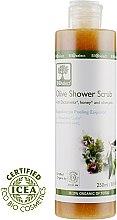 Духи, Парфюмерия, косметика Гель-скраб для душа с Диктамелией, частицами оливковых косточек и мёдом - BIOselect Olive Shower Gel Scrub