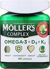 """Духи, Парфюмерия, косметика Пищевая добавка """"Complex Omega-3 + D3 + K2"""" - Mollers"""