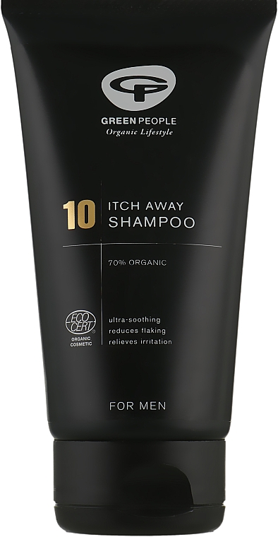 10 Шампунь для мужчин - Green People 10 Itch Away Shampoo