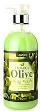 Духи, Парфюмерия, косметика Гель для душа с оливковым маслом - Lunaris Body Wash Olive