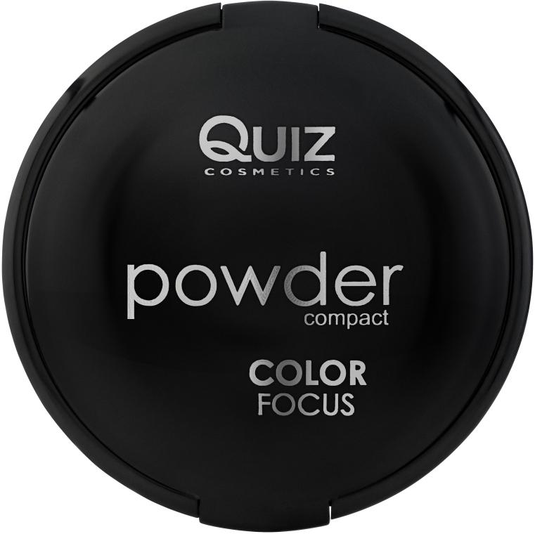 Компактная пудра с зеркалом - Quiz Cosmetics Color Focus Powder