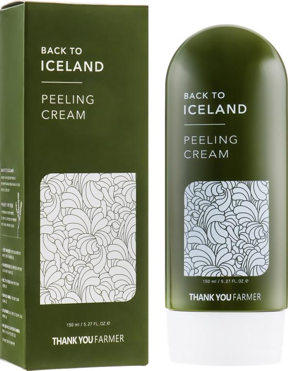 Крем-пилинг для лица - Thank You Farmer Back To Iceland Cream