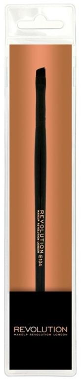 Кисть для бровей - Makeup Revolution Pro Eyebrow Brush E104