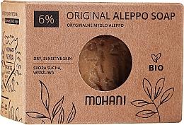 Духи, Парфюмерия, косметика Мыло алеппское c лавровым маслом 6% - Mohani Original Aleppo Soap 6%