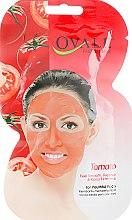 Духи, Парфюмерия, косметика Маска с экстрактом томата и витаминами A и E - Ovale Tomato Face Mask