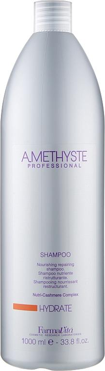Шампунь для сухих и ослабленных волос - Farmavita Amethyste Hydrate Shampoo