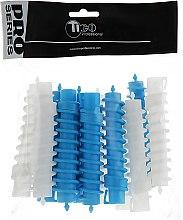 Духи, Парфюмерия, косметика Спиральные бигуди для химической завивки d16, белые-синие - Tico Professional