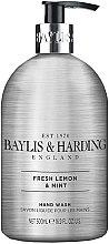 Духи, Парфюмерия, косметика Жидкое мыло для рук - Baylis & Harding Elements Lemon and Mint Hand Wash
