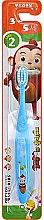 Духи, Парфюмерия, косметика Зубная щетка детская, голубая - Median Cocomong Step 2 Toothbrush