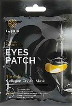 Парфумерія, косметика Гідрогелеві патчі для області навколо очей з біозолотом - Fabrik Cosmetology Bio Gold Eyes Patch