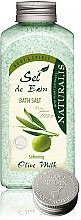 Духи, Парфюмерия, косметика Соль для ванны - Naturalis Sel de Bain Olive Milk Bath Salt