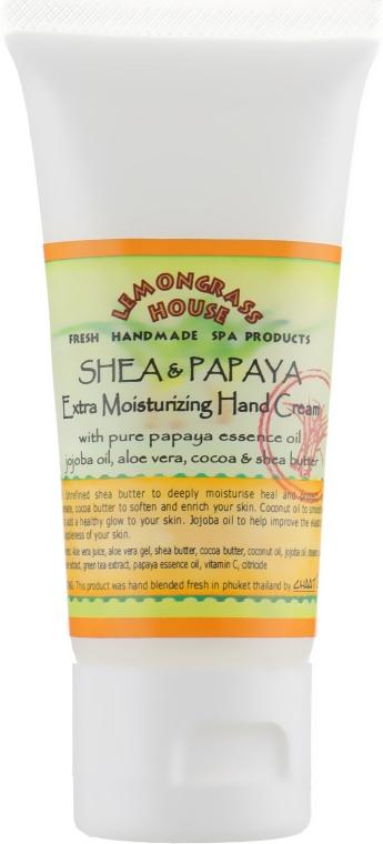 """Крем для рук с """"Карите и папайей"""" - Lemongrass House Hand Cream Shea & Papaya"""
