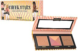 Духи, Парфюмерия, косметика Палитра румян и бронзера для лица - Benefit Cosmetics Cheek Stars Mini Reunion Tour Palette