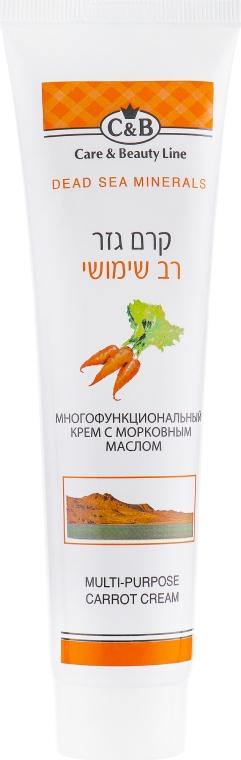Універсальний морквяний крем для тіла - Care & Beauty Line Body Multi-Purpose Carrot Cream — фото N1