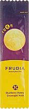 Духи, Парфюмерия, косметика Питательная ночная маска с черникой и медом - Frudia Blueberry Honey Overnight Mask