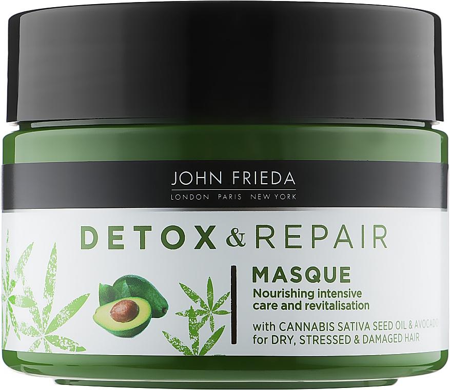 Питательная маска для интенсивного восстановления волос - John Frieda Detox & Repair Masque
