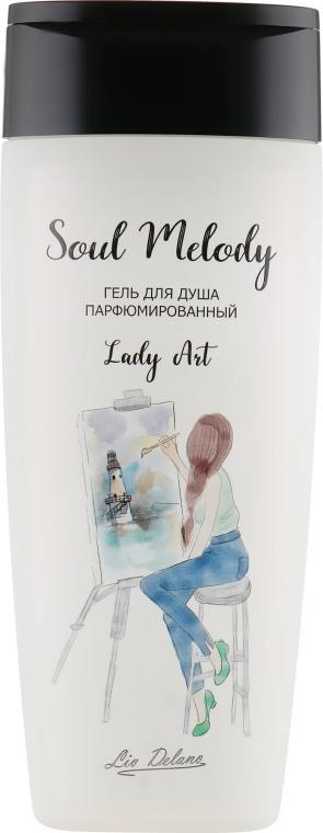 """Гель для душа парфюмированный """"Lady Art"""" - Liv Delano Soul Melody"""