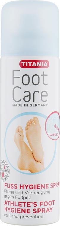 Спрей для ступней ног, защитный, против грибковых инфекций - Titania Foot Care Spray