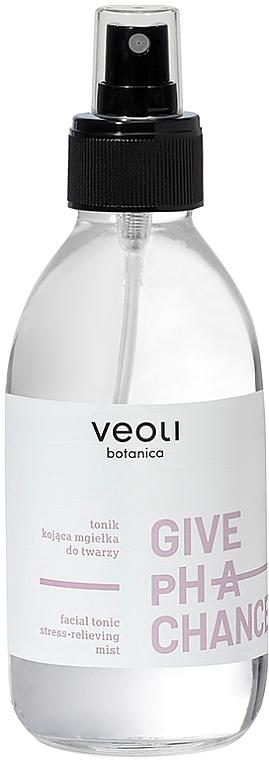 "Тоник для кожи лица ""Антистресс"" - Veoli Botanica Give Ph A Chance Facial Tonic Stress-Relieving Mist — фото N1"