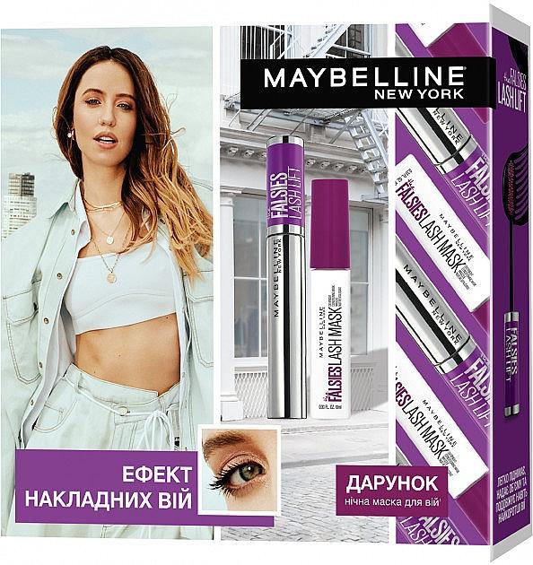 Набор - Maybelline New York The Falsies Lash Lift (mascara/9.6ml + mask/10ml)