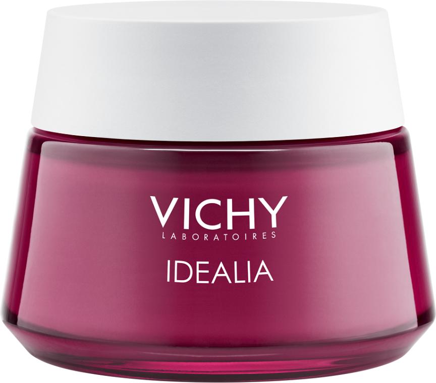 Крем для восстановления гладкости и сияния для сухой кожи - Vichy Idealia Smoothness & Glow Energizing Cream