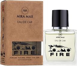 Духи, Парфюмерия, косметика Ароматизатор для авто - Mira Max Eau De Car Fire Perfume Natural Spray For Car Vaporisateur