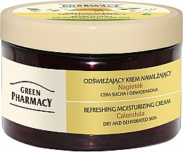 "Крем для лица ""Календула"" - Green Pharmacy Refreshing And Moisturizing Cream — фото N3"